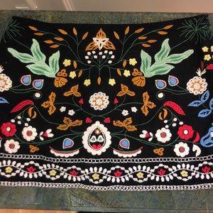 Embroidered Zara Mini Skirt